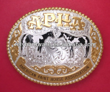 Belt Buckle With American Paint Horse Association