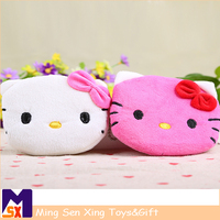 Plush coin purse plush mini coin wallet factory in china