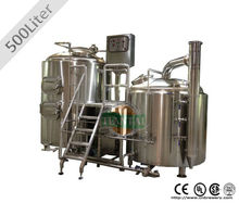 500L barbecue beer production machine With CE&ISO