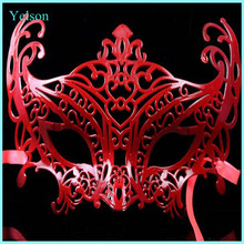 2015 fashion Hallowmas party red female face mask