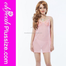 New lace pink hot sexy girls babydoll