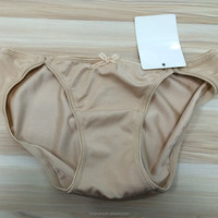 New design glossy simple ladies panty