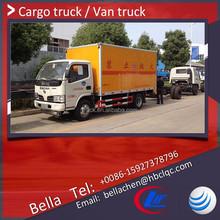 2-4 ton DFAC right hand drive van, van box, small van