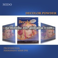 2014 MIDO Hot Selling Hair Dyeing Product highlight powder for hair 30ML