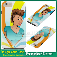 custom 2 in 1 tpu+pc back cover for iPhone 6 6s back case, for iPhone 6 pc+tpu cellphone case