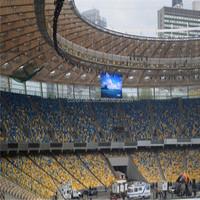 sports stadium led billboard panel led curtain 6mm flexible