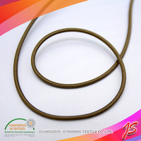 Top quality embroidered spiral elastic cord