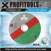green abrasive cutting disc for stone