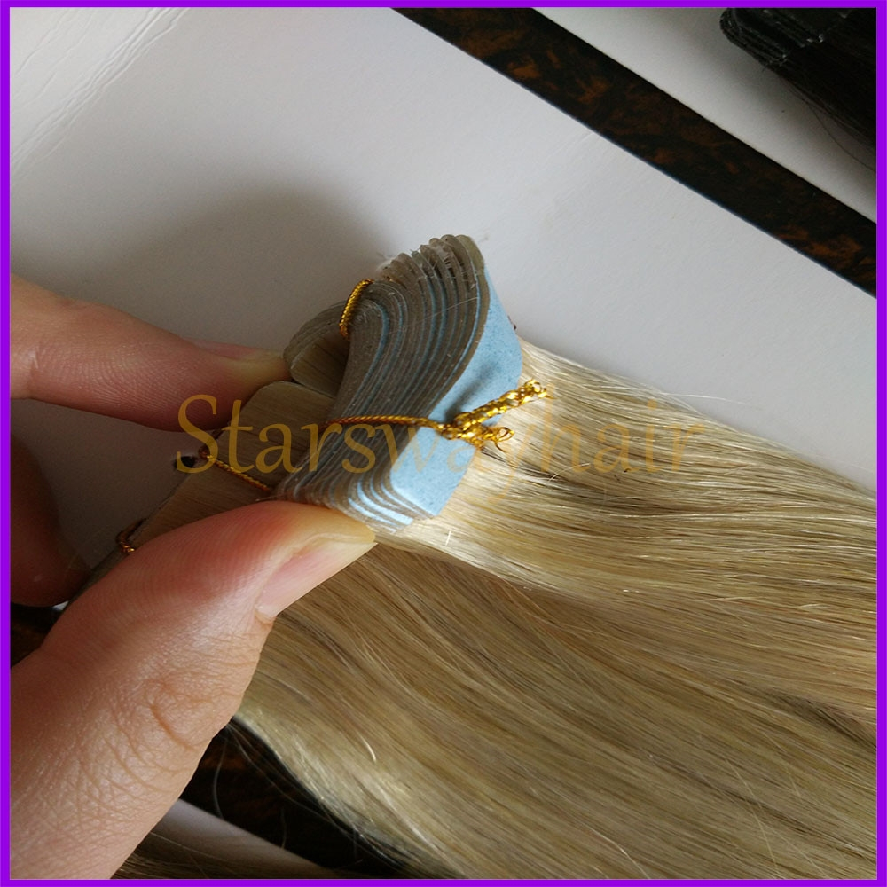 Virgin Russian Tape Hair Extensions 94