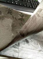 pvc double side metallic table cloth