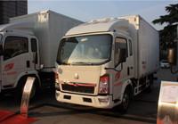 Sinotruk HOWO van truck sale, refrigerated van and truck in dubai, food truck fast food van