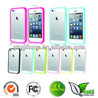 Colorful Soft Bumper Case Cover for iPhone 5S 5