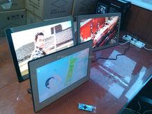 "digital photo frame led 23.6"" / SD USB port/ MP3 video JPEG / big size digital photo frame"