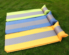 High quality outdoor inflatable camping mat/tent mattress/folding camping mat