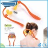 Adjustable trigger ball therapy neck massager