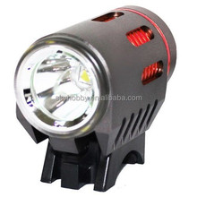 Flexible led DAYTIME and Night running lights 1800 lumen Cree XML T6 rechargeable LED Bicycle bike light with rubber