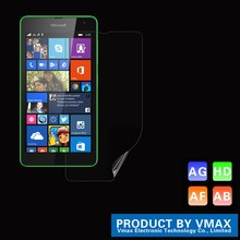 Brand Dmax!! Japan Material Clear mobile / cell phone pet screen protector for Microsoft Lumia 640