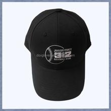 Hot selling Custom Wholesale Cool men black Baseball Caps with logo