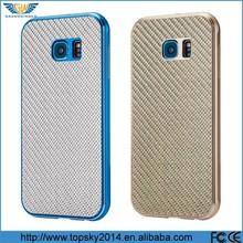 Luxury real carbon fibre +metal back cover , aluminum smart phone pocket