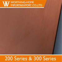 Titanium color lsheet price 304 stainless steel PVD coating