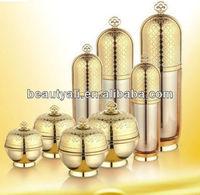 Crystal plastic cosmetic package cream jar 20G 30G 50G