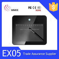 Ugee factory EX05 graphic tablet 8x5 inches 2048 levels kids drawing board