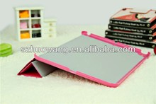 Baby Pink For iPad Air Premium Leather Folding Folio Stand Case with Free Gift