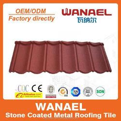 Colorful Stone Coated Metal Roofing in Nigeria/Kenya Africa