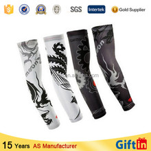 Custom Protection sports printed arm cool long sleeve churidar kameez