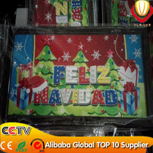 new electronic innovation super bright Christmas led sign board professional manufacturer lower price in YIWU city