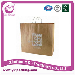 Luxury design paper bag paper gift bag manufacturing companies