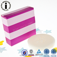 Good Perfume Beauty Hotel Brand Name of Bath Soap with Paper Box