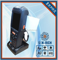 industrial handheld pda with 1D/2D bacode scanner support RFID reader