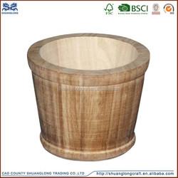 2015 new design wooden buckets for sale ,antique wood bucket ,round wooden bucket