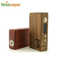 wood box mod Tesla 160W TC dry herb vaporizer tesla kit