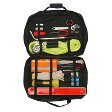 auto car emergency kit. auto safety kit with tow rope