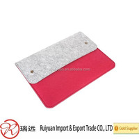 New coming pad Size and felt material portable computer case