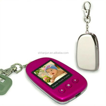 Digital Photo Keychain with voice message recorder Key chain keyring