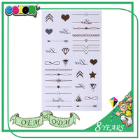 Hot Sell Product High Quality Material Oem Design Self Adhesive Special Tattoo Arm