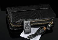 H264 720P Eiffel business card hand bag camera,Remote Control digital hidden camera bag