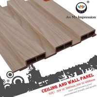 Manufacturer Ecological Wood Plastic Fire Resistant Wall Covering