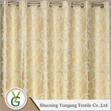 Decorativo casero elegante sencilla por mayor fábrica de diseño de la cortina .