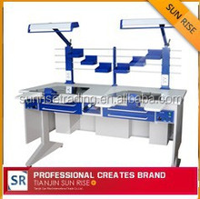 AX-JT6 dental bench set of dental laboratory with dust extraction system good quality