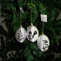 ornaments christmas xmas decorations christmas baubles vintage christmas theme decoration handicraft hanging colored ball