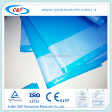 Blue/Green Surgical Mayo Stand Cover with PP/SMS reinforcement for operation