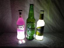 Party Favor flashing Led Bottle Sticker