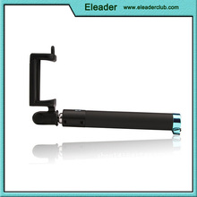 Mini hand held monopod selfie stick with bluetooth foldable design