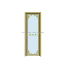 China alibaba high quality clear glass sliding bathroom door
