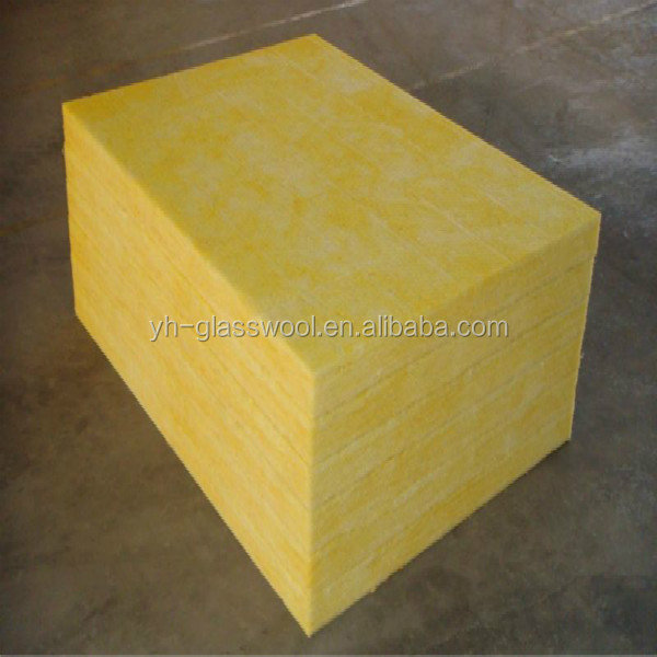 Wholesale rigid glass wool board fiber glass wool board for Glass fiber board insulation