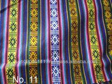 Ethnic cotton fabric from Bhutan